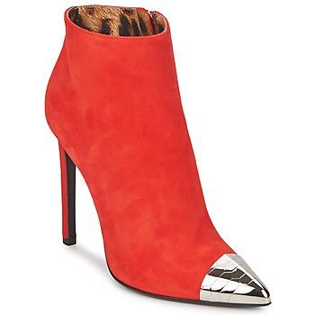 Pantofi Femei Botine Roberto Cavalli WDS213 Roșu