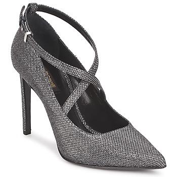 Pantofi Femei Pantofi cu toc Roberto Cavalli WDS234 Gri