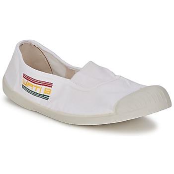 Pantofi Femei Balerin și Balerini cu curea Wati B LYNDA Alb