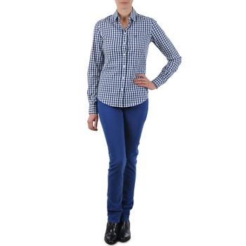 Îmbracaminte Femei Jeans drepti Gant N.Y. KATE COLORFUL TWILL PANT Albastru