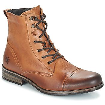 Pantofi Bărbați Ghete Casual Attitude RIBELLE Camel