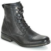 Pantofi Bărbați Ghete Casual Attitude RIBELLE Negru