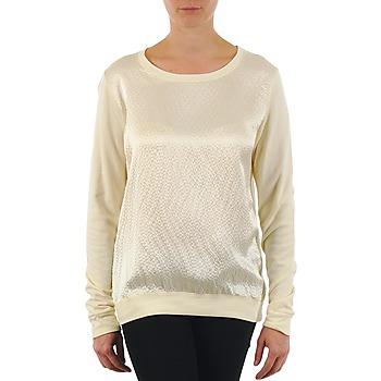 Îmbracaminte Femei Tricouri cu mânecă lungă  Majestic 237 Ecru