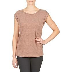 Îmbracaminte Femei Tricouri mânecă scurtă Color Block 3203417 Uzat / Roz / Chiné / Gri