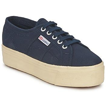 Pantofi Femei Pantofi sport Casual Superga 2790 LINEA UP AND Bleumarin