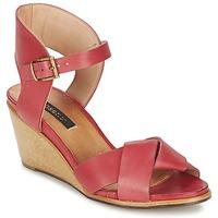 Încăltăminte Femei Sandale și Sandale cu talpă  joasă Neosens NOAH Roșu