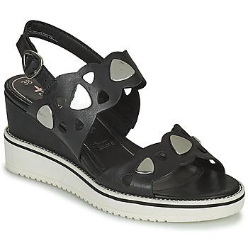 Pantofi Femei Sandale și Sandale cu talpă  joasă Tamaris MAGDA Negru