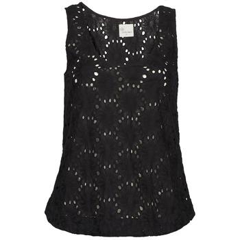 Îmbracaminte Femei Maiouri și Tricouri fără mânecă Stella Forest ADE007 Negru
