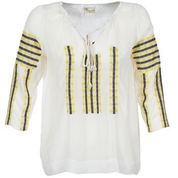 Îmbracaminte Femei Topuri și Bluze Stella Forest ATU025 Alb / Gri / Galben