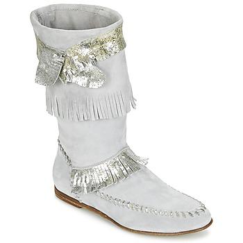Pantofi Femei Cizme casual Now MATELI Gri / Argintiu