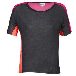 Îmbracaminte Femei Tricouri mânecă scurtă American Retro CAROLE Negru / Roz