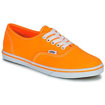 Pantofi Femei Pantofi sport Casual Vans AUTHENTIC LO PRO Portocaliu / Pop
