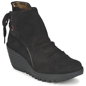 Pantofi Femei Botine Fly London YAMA Negru