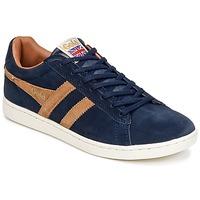 Pantofi Bărbați Pantofi sport Casual Gola EQUIPE SUEDE Albastru / Maro