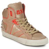 Pantofi Femei Pantofi sport stil gheata Ash SPIRIT Bej / Auriu / Portocaliu