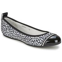Pantofi Femei Balerin și Balerini cu curea Bikkembergs BASAR 910 Negru / Alb
