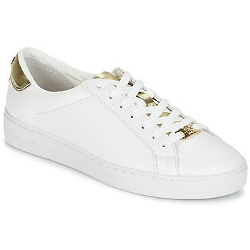 Încăltăminte Femei Pantofi sport Casual MICHAEL Michael Kors IRVING Alb / Auriu