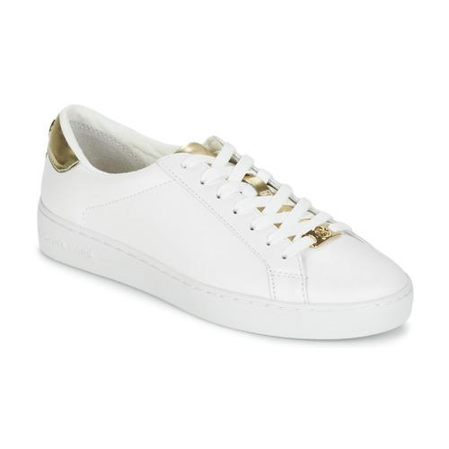 Pantofi Femei Pantofi sport Casual MICHAEL Michael Kors IRVING Alb / Auriu