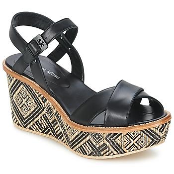 Pantofi Femei Sandale  Stéphane Kelian BELLA 7 Negru