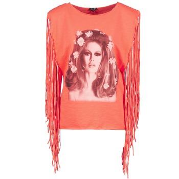 Îmbracaminte Femei Maiouri și Tricouri fără mânecă Brigitte Bardot BB44075 Corai
