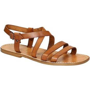 Pantofi Bărbați Sandale  Gianluca - L'artigiano Del Cuoio 531 U CUOIO CUOIO Cuoio