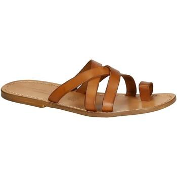 Pantofi Bărbați Sandale  Gianluca - L'artigiano Del Cuoio 549 U CUOIO CUOIO Cuoio