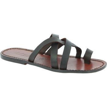 Pantofi Bărbați Sandale  Gianluca - L'artigiano Del Cuoio 549 U MORO CUOIO Testa di Moro