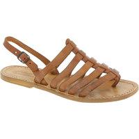 Pantofi Femei Sandale  Gianluca - L'artigiano Del Cuoio 576 D CUOIO CUOIO Cuoio