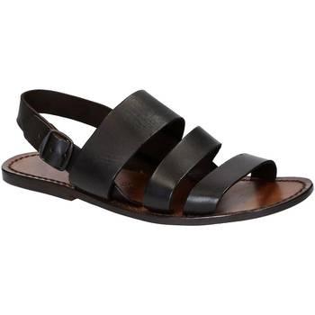 Pantofi Bărbați Sandale  Gianluca - L'artigiano Del Cuoio 507 U MORO CUOIO Testa di Moro