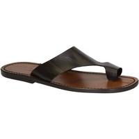 Pantofi Bărbați Sandale  Gianluca - L'artigiano Del Cuoio 521 U MORO CUOIO Testa di Moro
