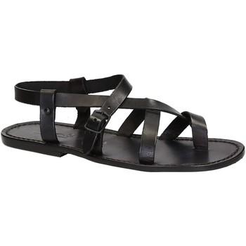 Pantofi Bărbați Sandale  Gianluca - L'artigiano Del Cuoio 530 U NERO CUOIO nero
