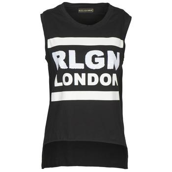 Îmbracaminte Femei Maiouri și Tricouri fără mânecă Religion B123RGT41 Negru