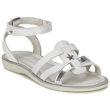 Pantofi Fete Sandale și Sandale cu talpă  joasă Mod'8 HOPAL Alb