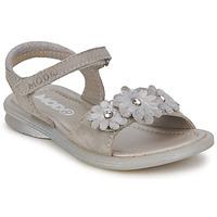 Pantofi Fete Sandale și Sandale cu talpă  joasă Mod'8 JUKA Argintiu
