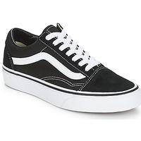 Încăltăminte Pantofi sport Casual Vans OLD SKOOL Negru / Alb