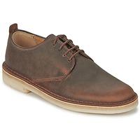 Pantofi Bărbați Pantofi Derby Clarks DESERT LONDON Maro