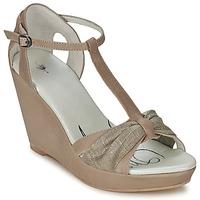Încăltăminte Femei Sandale și Sandale cu talpă  joasă One Step CEANE Taupe / Aurie / Taupe