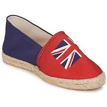 Pantofi Femei Espadrile Be Only KATE  roșu-albastru