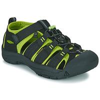Încăltăminte Copii Sandale sport Keen KIDS NEWPORT H2 Negru / Verde