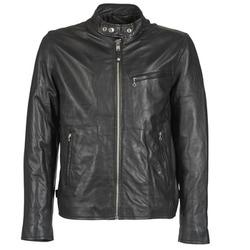 Îmbracaminte Bărbați Jachete din piele și material sintetic Schott BLODOU Negru