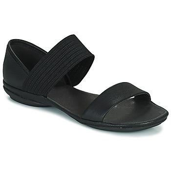 Pantofi Femei Sandale și Sandale cu talpă  joasă Camper RIGHT NINA Negru