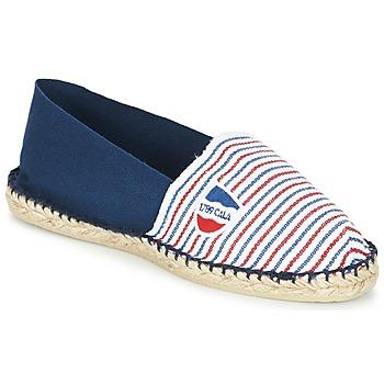 Pantofi Espadrile 1789 Cala CLASSIQUE BICOLORE Albastru / Alb / Roșu
