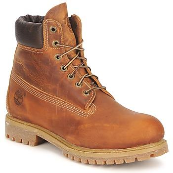 Pantofi Bărbați Ghete Timberland HERITAGE 6 IN PREMIUM Maro