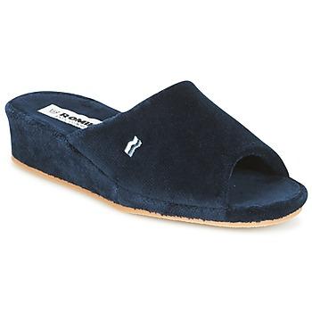 Pantofi Femei Papuci de casă Romika PARIS Bleumarin