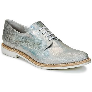 Încăltăminte Femei Pantofi Derby Miista ZOE Argintiu / Sclipitor