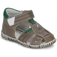 Pantofi Băieți Sandale  Primigi QUINCY Gri / Verde