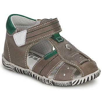 Încăltăminte Băieți Sandale și Sandale cu talpă  joasă Primigi QUINCY Gri / Verde