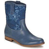 Pantofi Femei Ghete Alba Moda FALINA Albastru