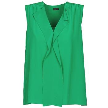 Îmbracaminte Femei Maiouri și Tricouri fără mânecă Joseph DANTE Verde