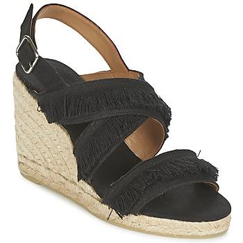 Pantofi Femei Sandale și Sandale cu talpă  joasă Castaner BEGGA Negru